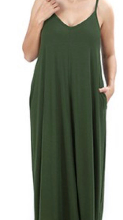 Let's Chill Sundress, 2 Colors (Plus Size)