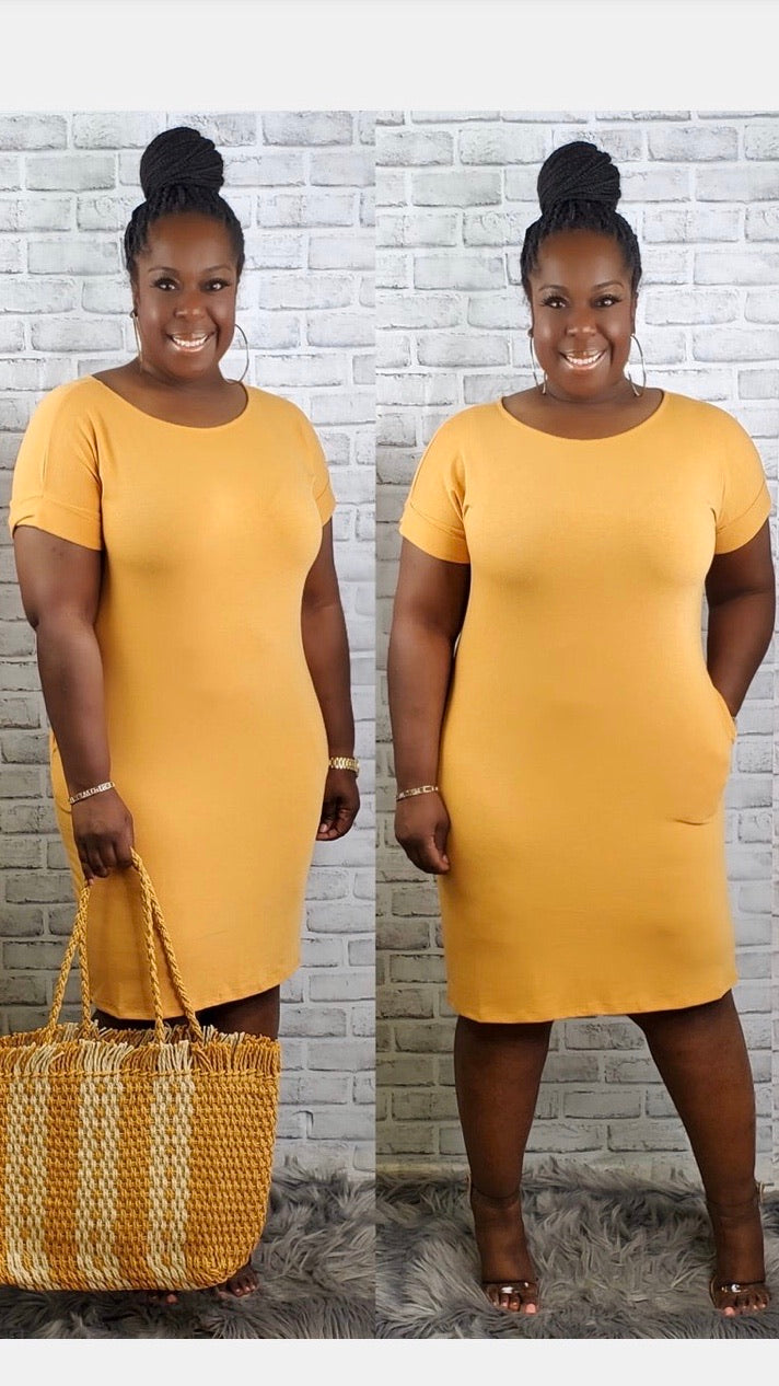 Comfy Girl Dress (3 Colors)