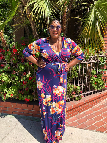 Wild Thoughts Maxi Dress (Plus Size)