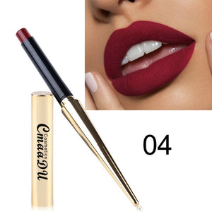 Brand New 12 Colors Matte Bullet Head Lipstick Waterproof Long Lasting Makeup Tube Make Up Waterproof Liquid Lip Stick Cosmetic
