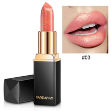 HANDAIYAN Glitter Lipstick Temperature Change Color Lip Stick Waterproof Shimmer Rouge a Levre Bigger Lips Tattoo Shiny Makeup