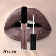 2018 New Fashion Makeup Lipstick Matte Lipstick Brown Nude Chocolate Color Liquid Lipstick Lip Gloss Matte Batom