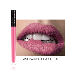 FOCALLURE Liquid Lipstick Makeup Matte Lip Tint Sexy Pigment Waterproof Batom Tint Nude Gloss Kiss-proof Lips Make up