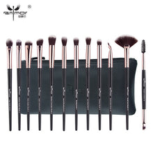 Anmor New Make Up Brushes 12 PCS Professional Blending Eyeshadow Eyebrow Brush For Makeup Beauty Set