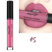 Matte Lipstick Fashion Makeup Long-Lasting Liquid Lip Makeup Lipstick Easy To Wear Nude Red Lip Gloss Cosmetic