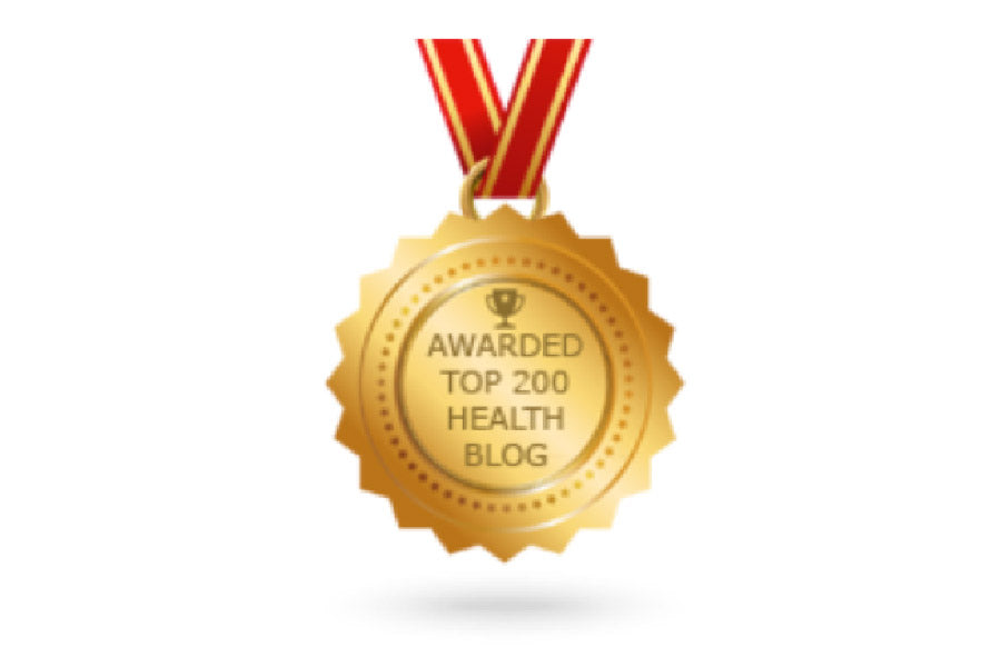top 200 health blog award