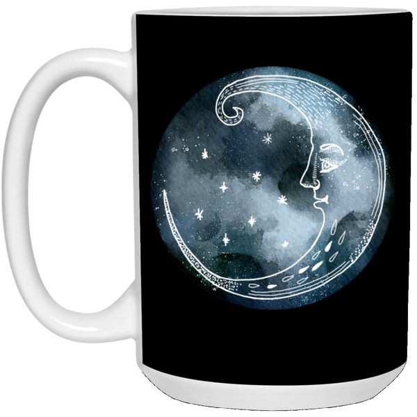 Moon and Stars Night Sky Mugs