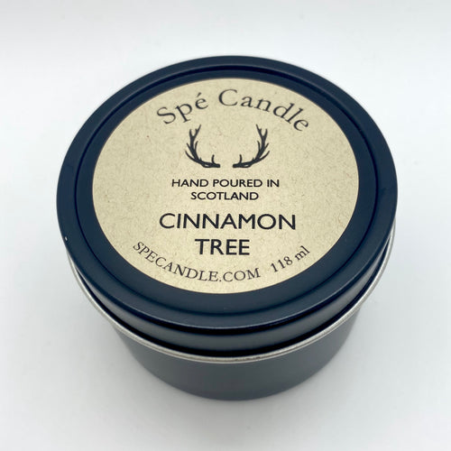 CINNAMON TREE TRAVEL CANDLE