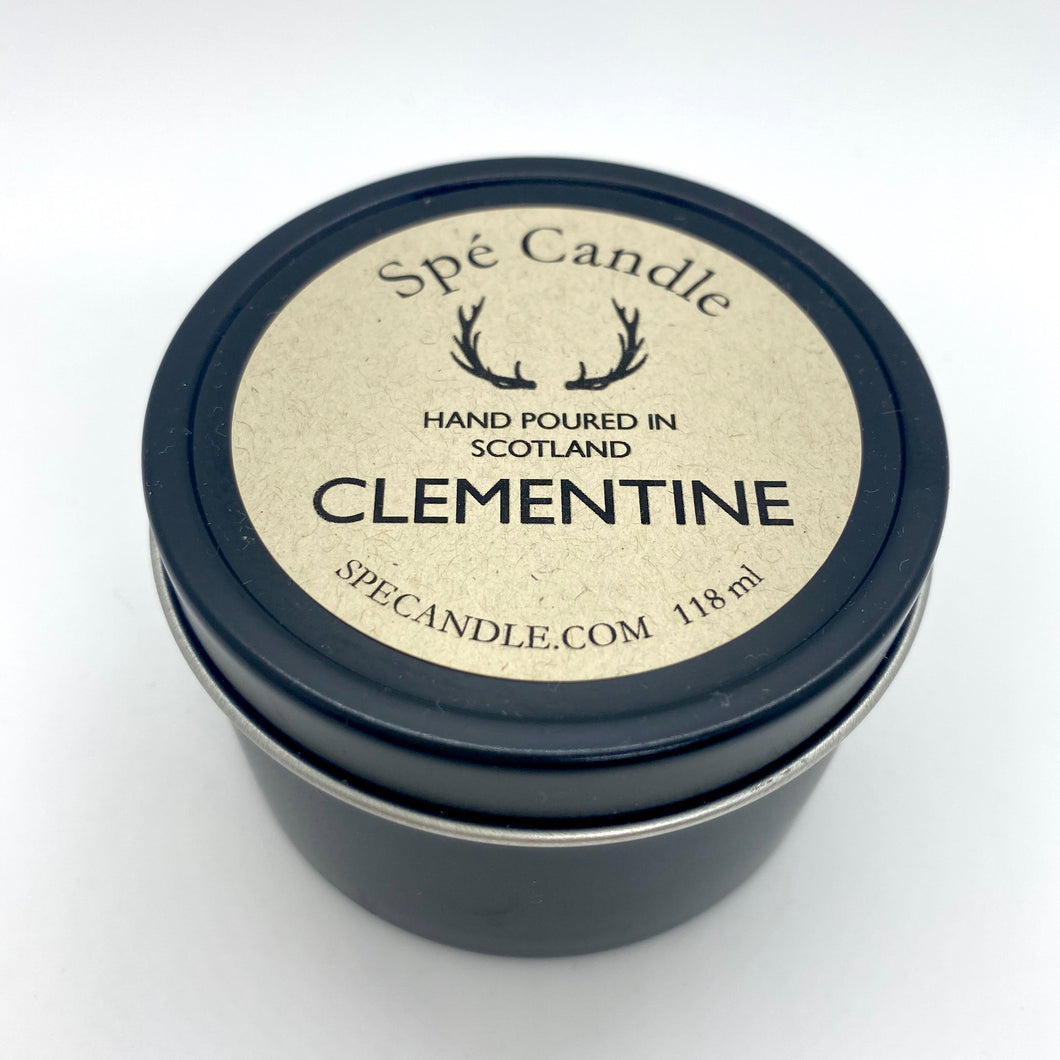 CLEMENTINE TRAVEL CANDLE