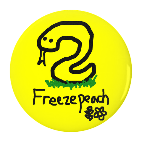 freezepeach button - Bread and Roses Apparel