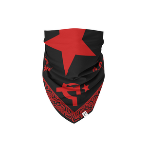 Hammer and Sickle Bandana - Bread and Roses Apparel