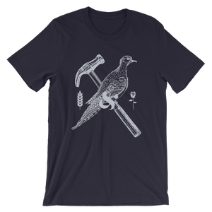 Dove and Hammer Tee - Bread and Roses Apparel