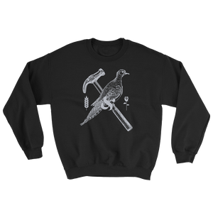 dove and hammer sweater - Bread and Roses Apparel