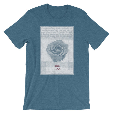 rose tee - Bread and Roses Apparel