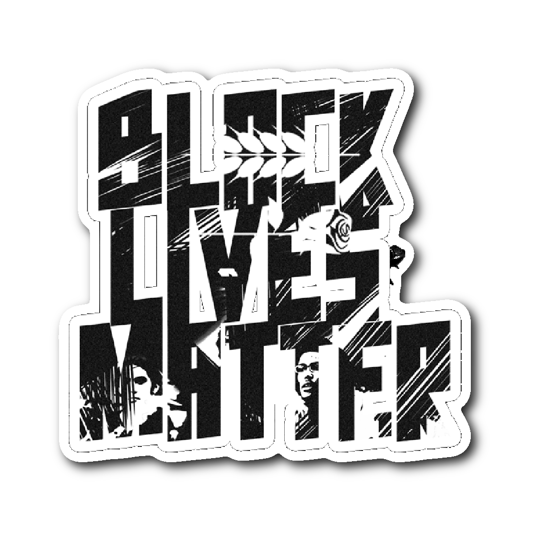 Black Lives Matter Sticker - Bread and Roses Apparel