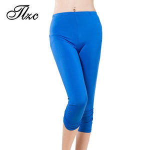 Women Elastic Pencil Pants Plus Size  Leggings