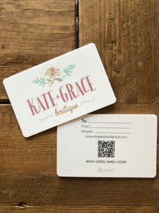 ***Gift Card (any amount)