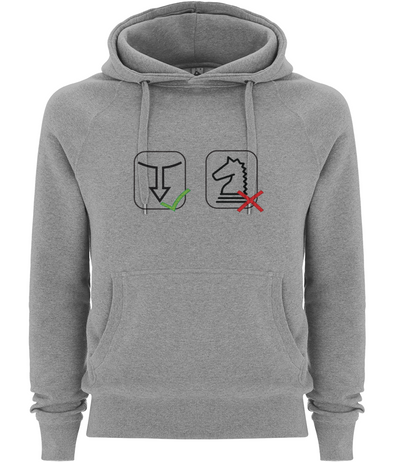 Men's/Unisex Pullover Hoody No Chess