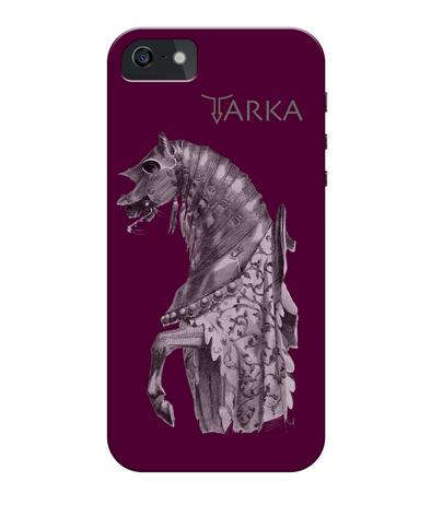 iPhone 5/5s Full Wrap Case Horse Tarka