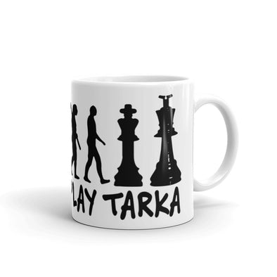 Mug Born to play Tarka