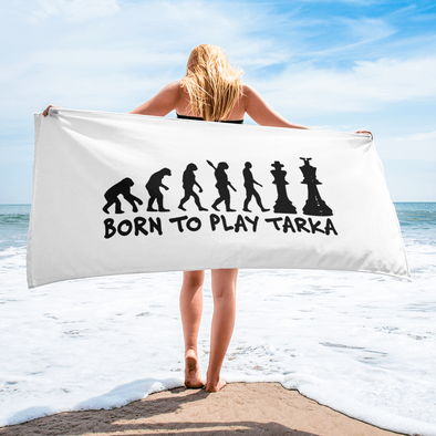 Towel Born to Play Tarka