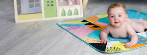 Rudie Nudie The Happy Now nappy-free Playmat