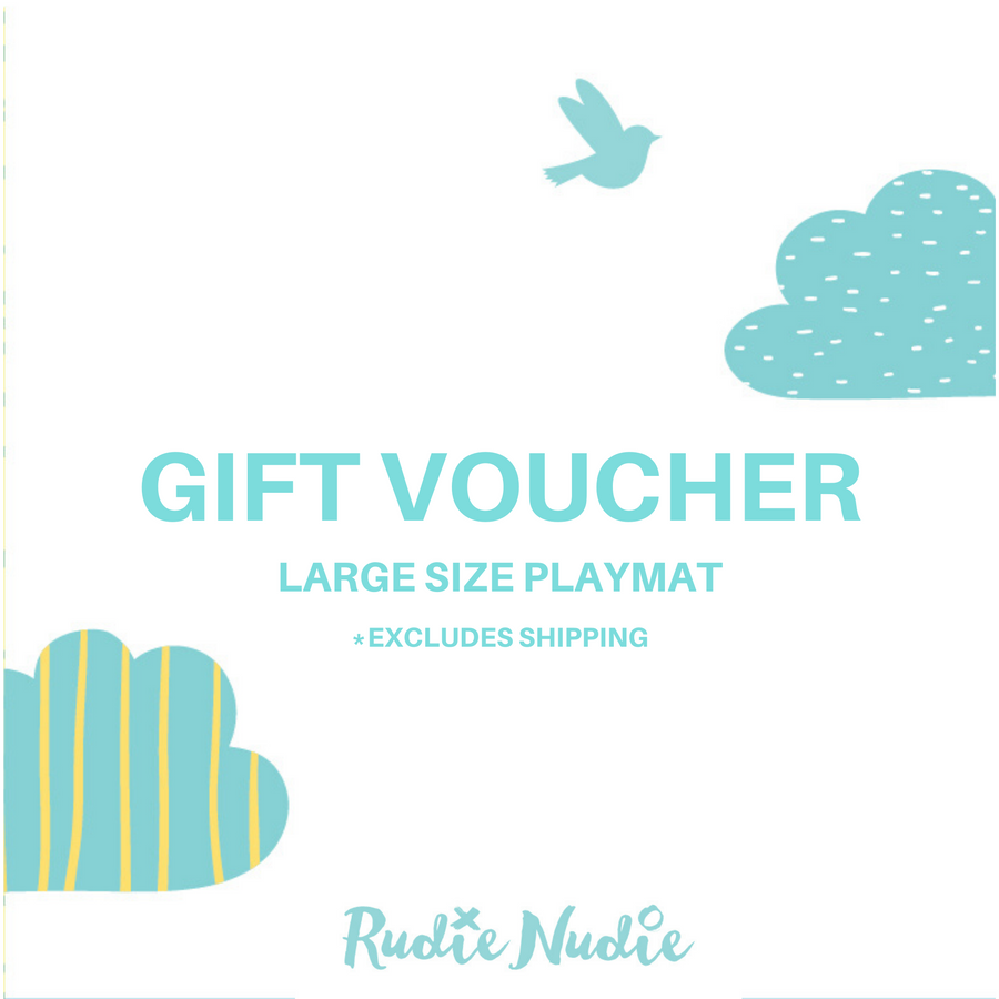 Rudie Nudie Gift Card [Larger Size Playmat]