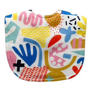 Pop Pip Pow Bib by Tilda & Moo