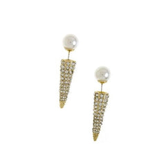 Pavé Spike Ear Jacket