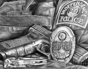 New prints for KC area; Fundraiser for Officer Wagstaff