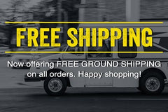 Free Ground Shipping from Lucks Art 911