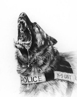 K-9 custom artwork by Signia Artwork
