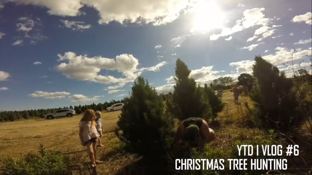 YTD I VLOG #6 - CHRISTMAS TREE HUNTING