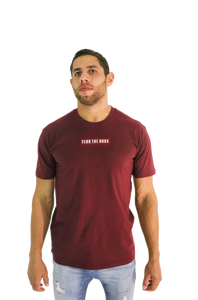 RECTANGLE TEE - BURGUNDY