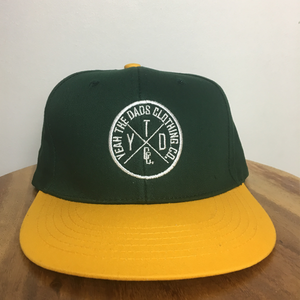 MIGHTY DUCKS SNAPBACK - GREEN/YELLOW
