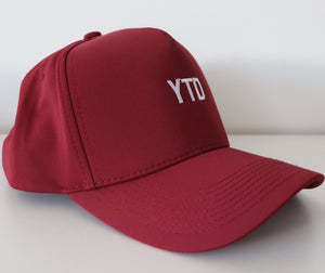 YTD Staple Cap - Maroon