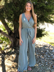 Aztec Design Jumpsuit
