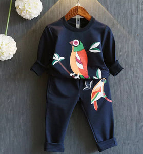 Girls parrot set