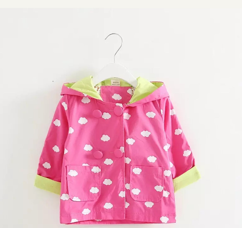 Girls Pink Cloud Jacket