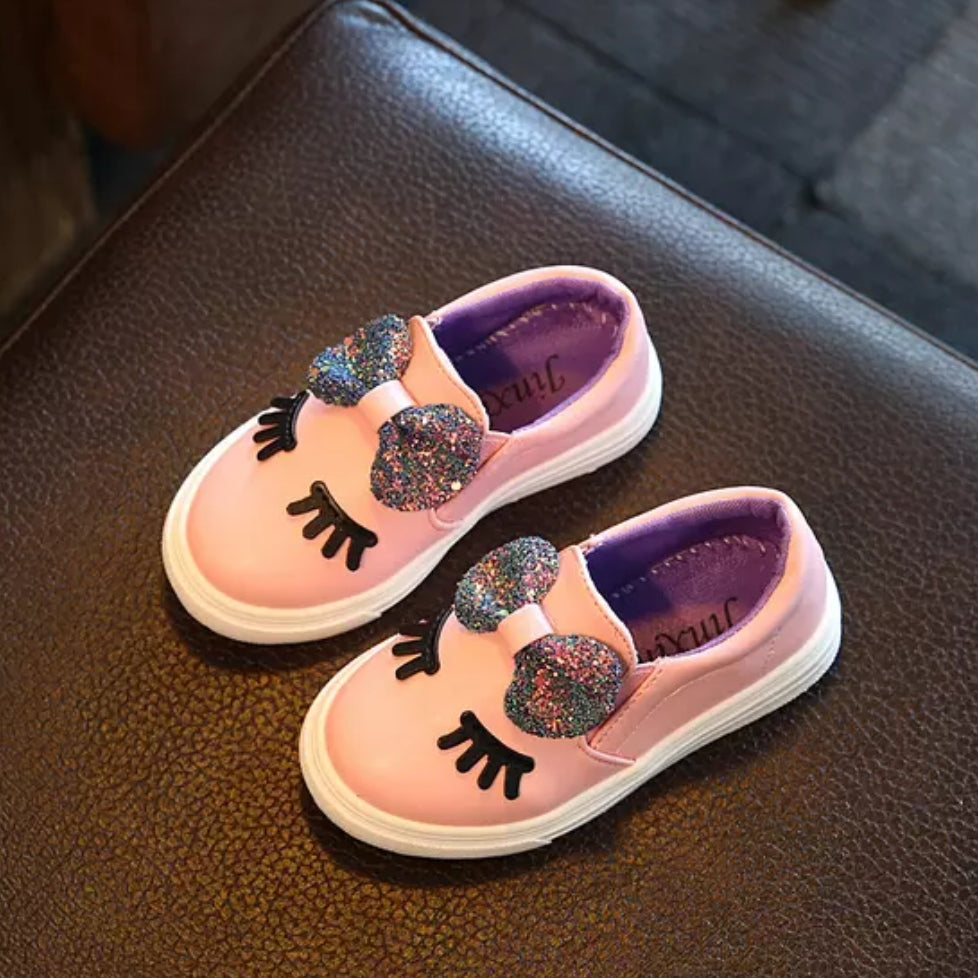 Girls Pink Fashion Shoe