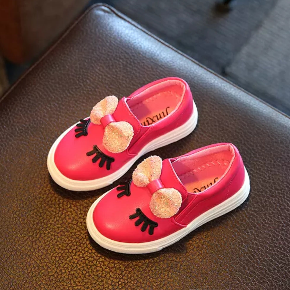 Girls Deep Pink Fashion Shoe