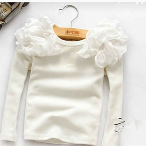 Girls Ruffle Blouse
