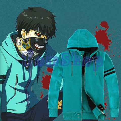 Kaneki Ken Unisex Hooded Sweatshirt (Cosplay) - GeoDapper