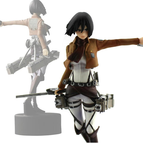 13cm Attack On Titan Mikasa Ackerman figure - GeoDapper