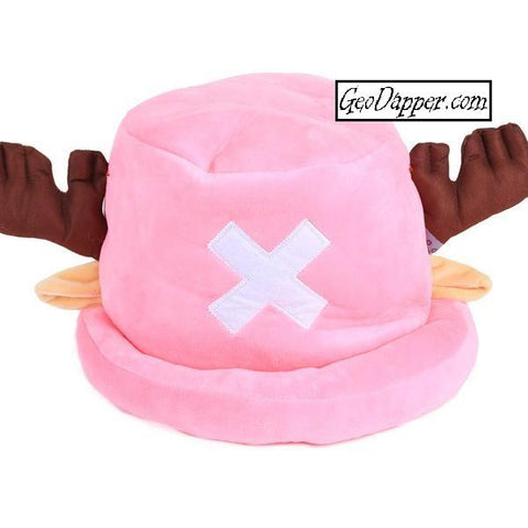 Tony Tony Chopper Cosplay Hat that is also a Plush Toy (from One Piece)