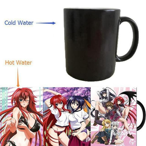 High School DxD ceramic mugs that change with heat - GeoDapper