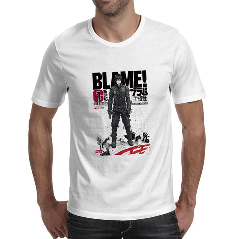 Blame! Skater Style Shirt with Punk Design - GeoDapper