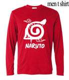 Hidden Leaf Village long sleeve shirt for men (from Naruto) - GeoDapper