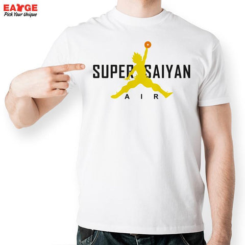 Super Saiyan Air Baketball Shirt - GeoDapper