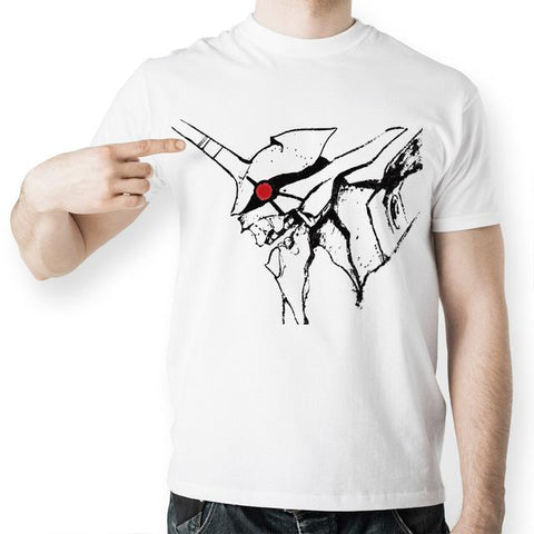 Evangelion EVA Printed Short Sleeve Shirt - GeoDapper